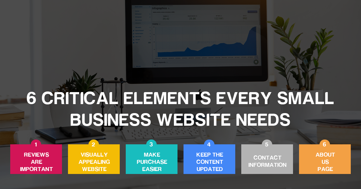 6 Critical Elements Every Small Business Website Needs