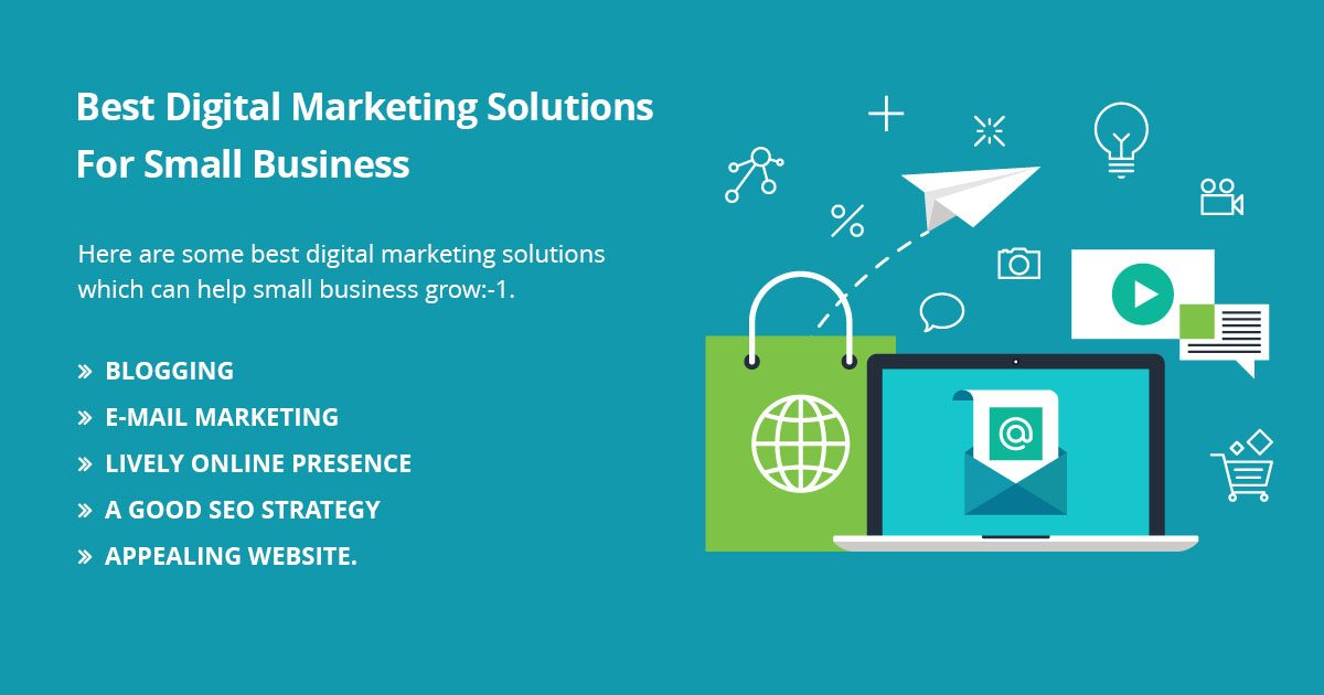 BEST DIGITAL MARKETING SOLUTIONS FOR SMALL BUSINESSES