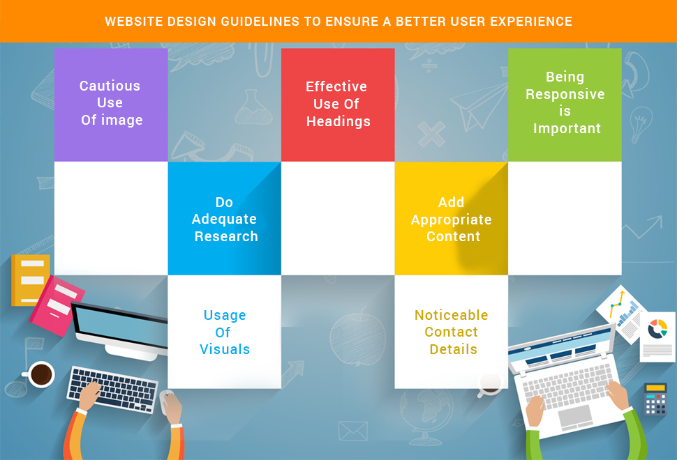 Website Design Guidelines To Ensure A Better User Experience
