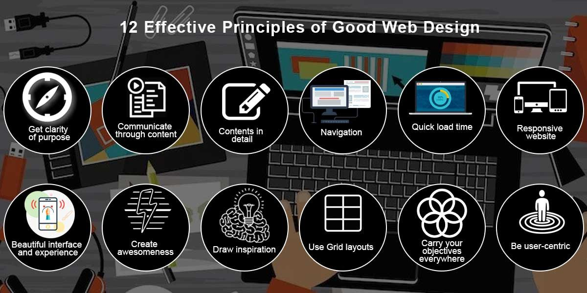 12 Effective Principles of Good Web Design