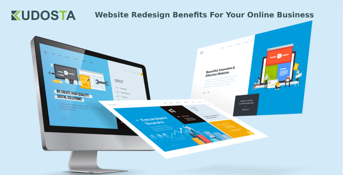 web design benefits for your online business