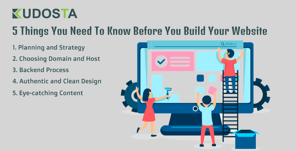 5 Things You Need To Know Before You Build Your Website