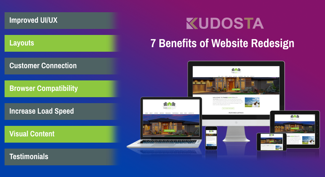 7 Benefits of Website Redesign